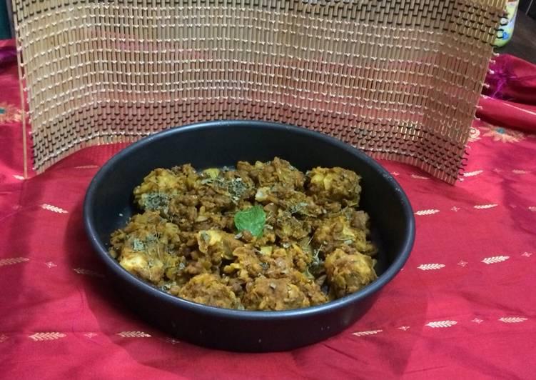 Recipe of Homemade Baked kofta chole masala curry