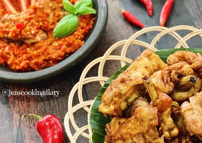 Indonesian Crispy Coriander Fried Chicken