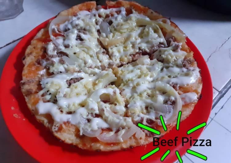 Beef Pizza Teflon