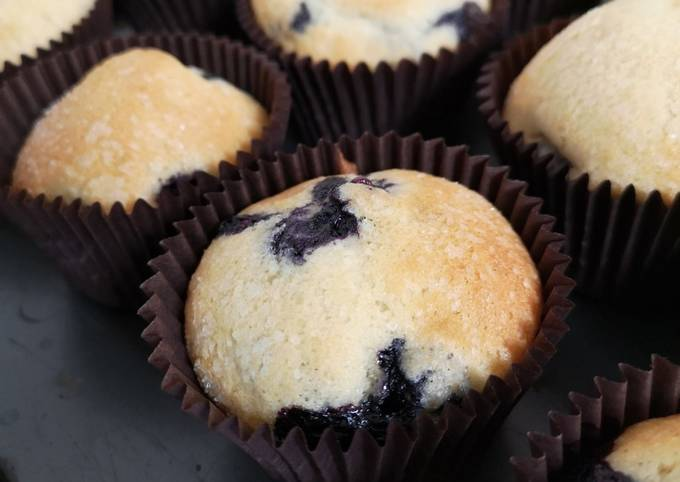How to Cook Tasty Blueberry Muffins