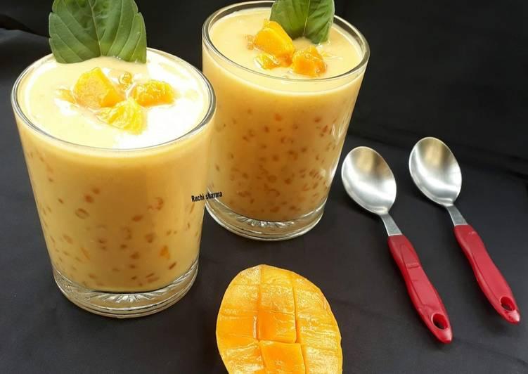 Recipe of Favorite Mango Sagoo