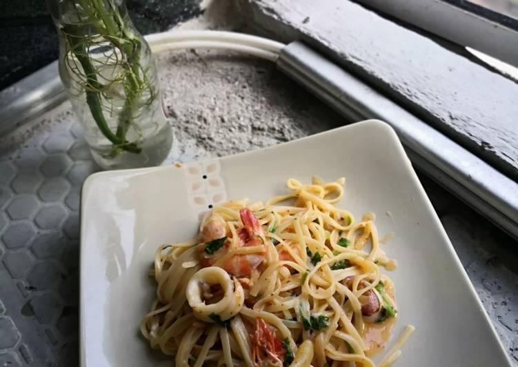 Spagheti Aglio Olio Simple