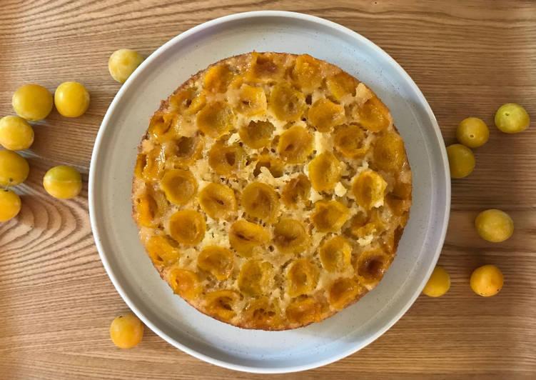 Recette De Gâteau Moelleux aux Mirabelles