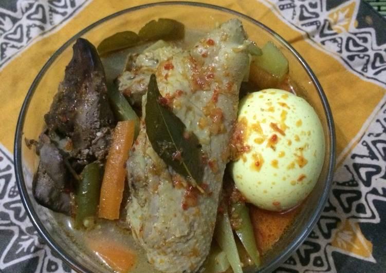 16. Lontong sayur Padang ala fe' #selasabisa