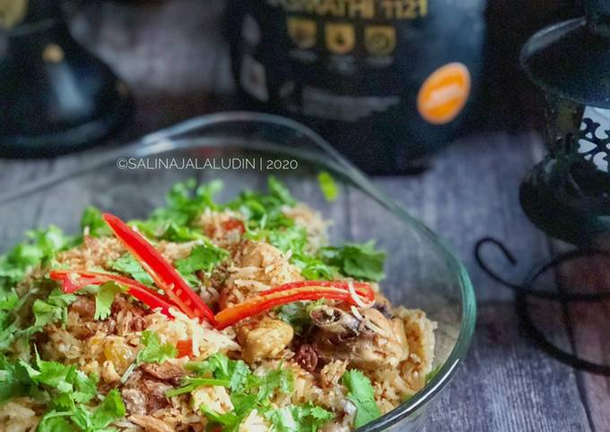 Nasi Tomato Ayam Lebonan Chef Wan