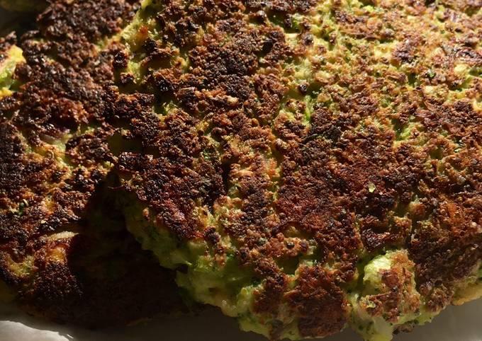 Keto Broccoli Fritters