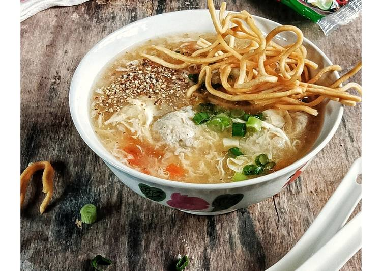 Drops Soup With Crunchy NuMee