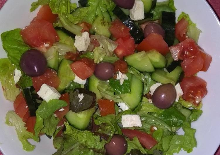 Quick dinner salad