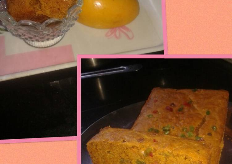 How to Make Yummy Biscuit mango cake