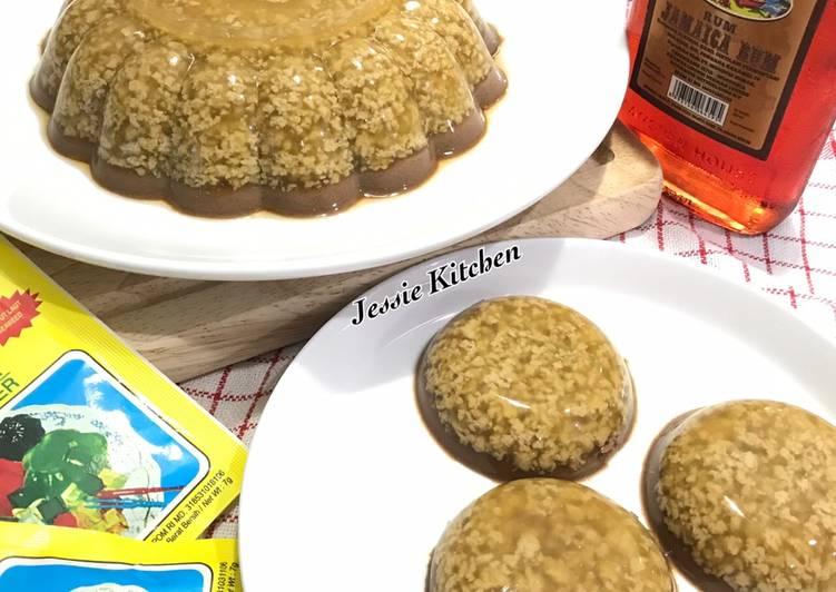 Pudding Gula Merah x Kopi