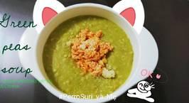 Hình ảnh món Milky seafood green peas soup - Súp sữa hải sản đậu hà lan
