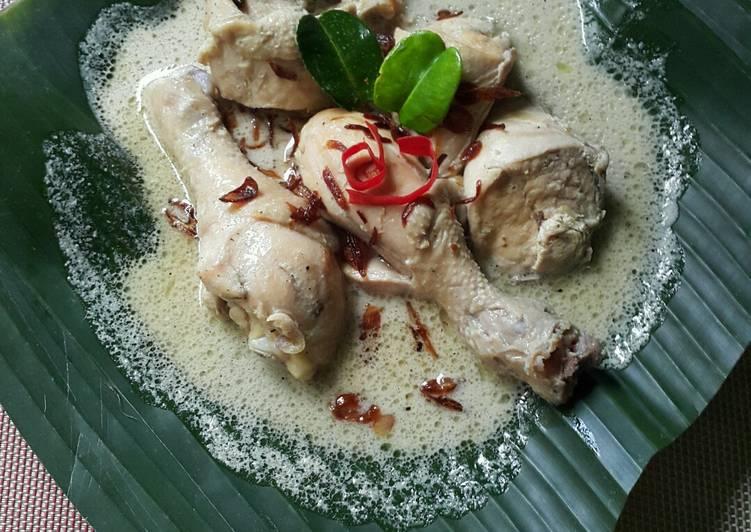 Cara Gampang Membuat Opor Ayam Putih, Bikin Ngiler