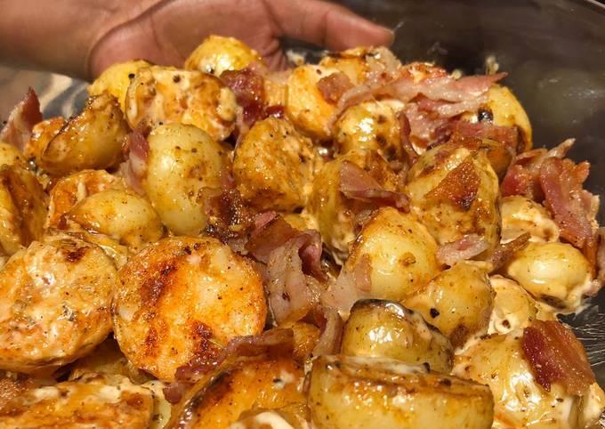 Braai Top Potato Salad