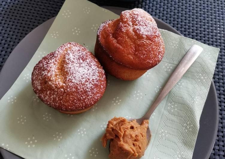 Muffin banane beurre de cacahuètes 😍