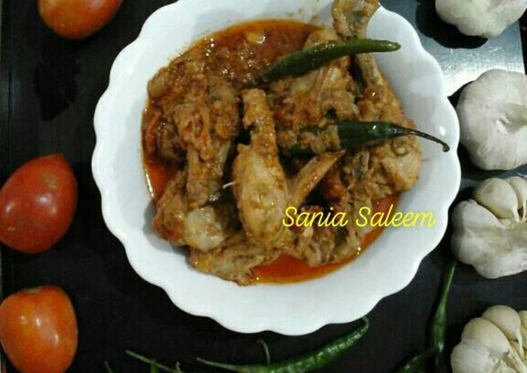 Chinese Style Black Pepper Chicken Karahi