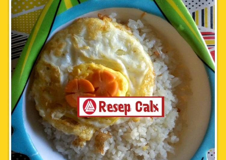 Resep Nasi Goreng Mentega + Telur Mata Sapi untuk anak Top