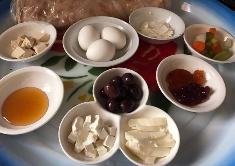 أفكار لعزومة فطور صباحي البوابة