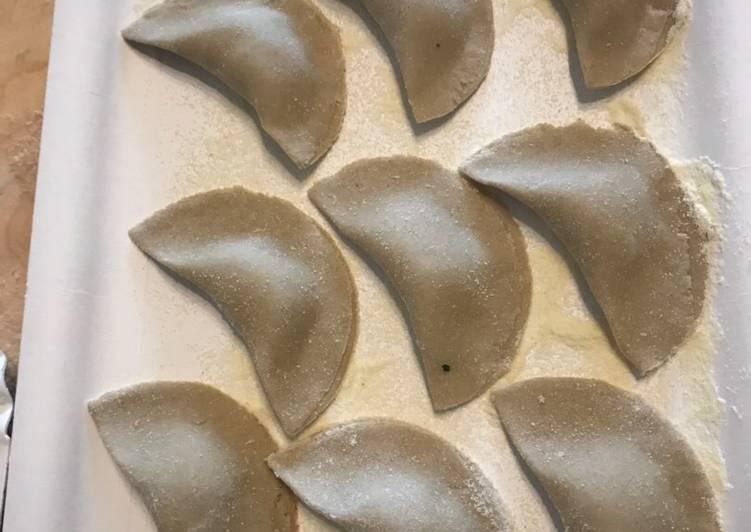 Ricetta Tortelli sudtirolesi (Schlutzkrapfen) con ricotta e spinaci