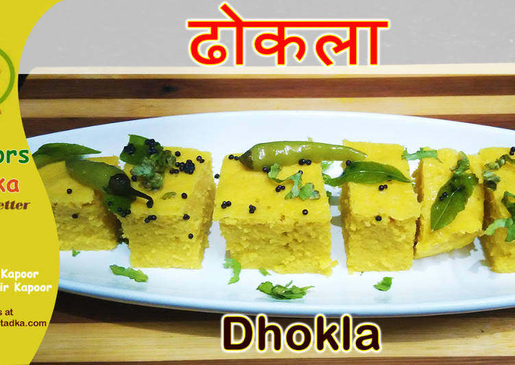 10 Minute Step-by-Step Guide to Make Any Night Of The Week Dhokla