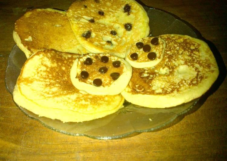 Recipe: Tasty Banana Pancake