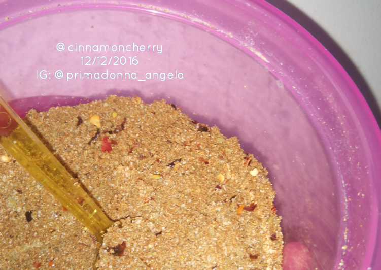 Simple Way to Prepare Super Quick Homemade My Own Version of Homemade Rub