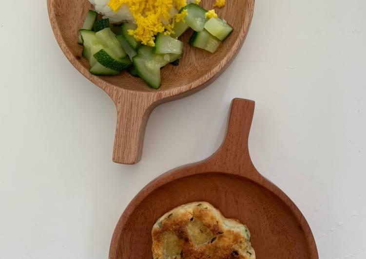 Bánh gà - cơm trưa của Hành