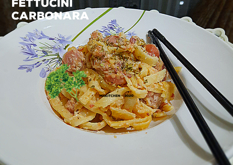 Spaghetti Fettucini Carbonara
