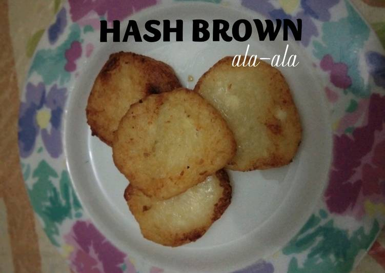 Hash Brown Ala* mpasi