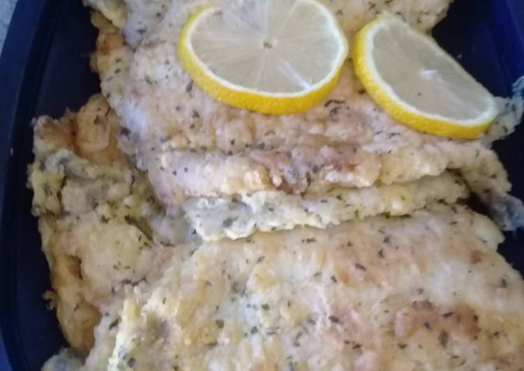 Easiest Way to Make Most Popular Hake fish with parsley