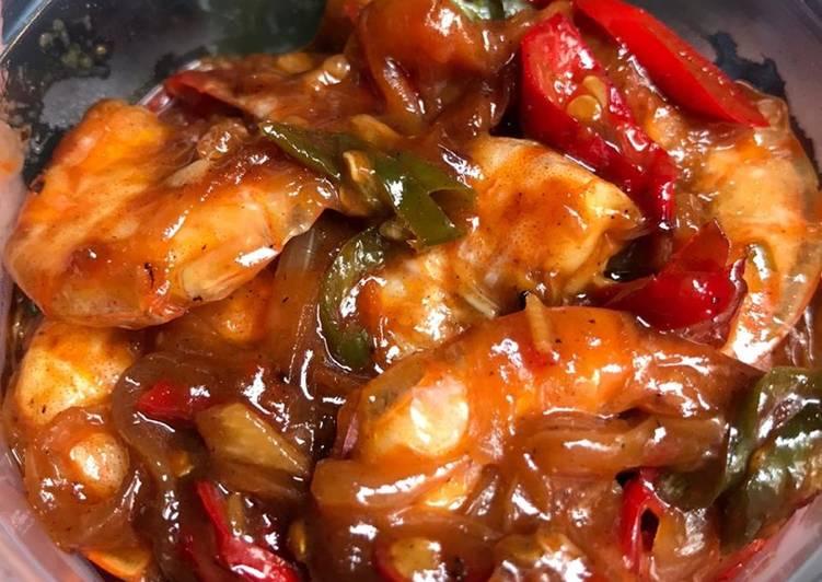 Udang saus padang praktis - cookandrecipe.com
