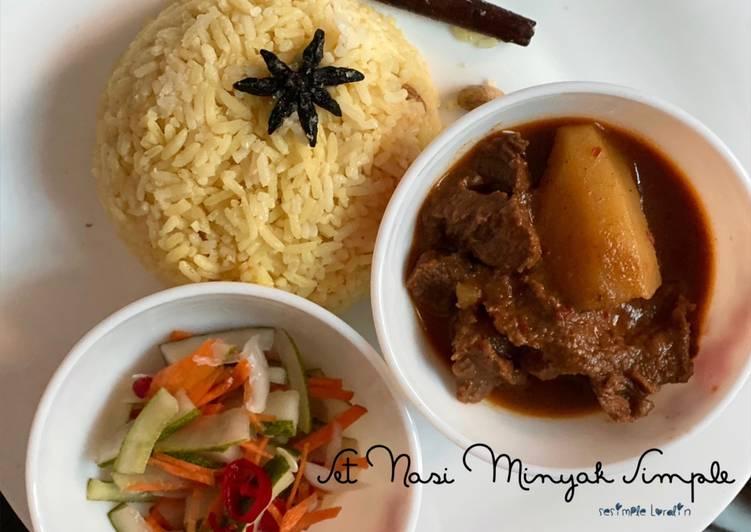 Set Nasi Minyak Simple