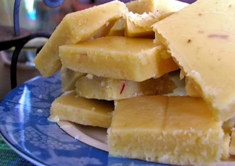 Recipe of Ultimate Besan Coconut Burfi