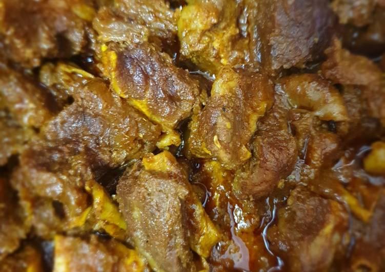 Sie Reuboh (Daging Rebus Bumbu Khas Aceh Besar)