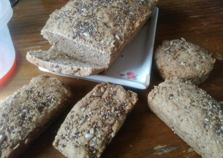 pan de centeno sin levadura ingredientes