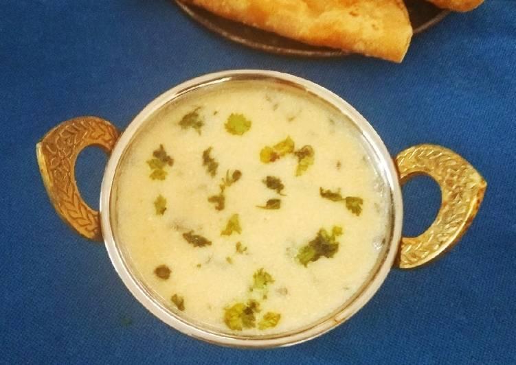 Recipe of Award-winning Vrat Kadi