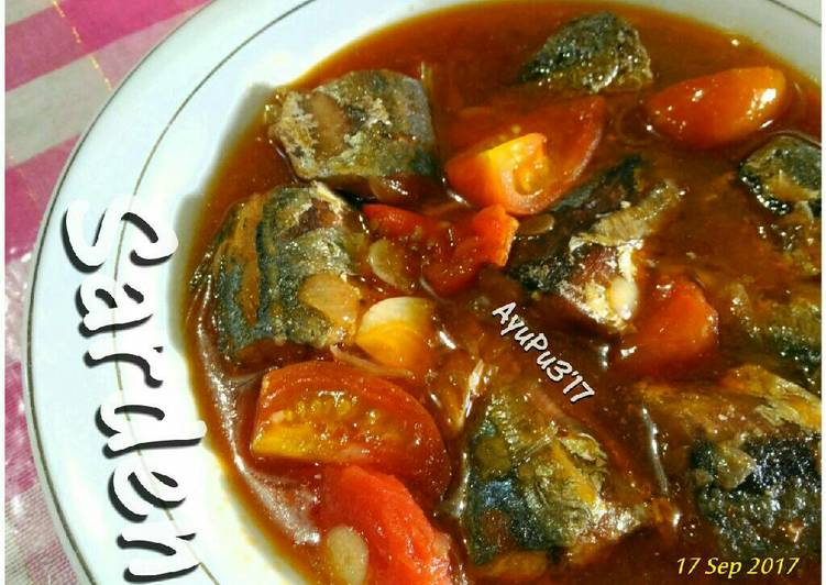 Sarden homemade... recomended...