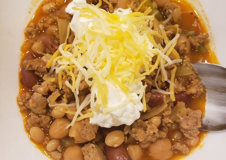 Easiest Way to Make Tasty Healthier chili