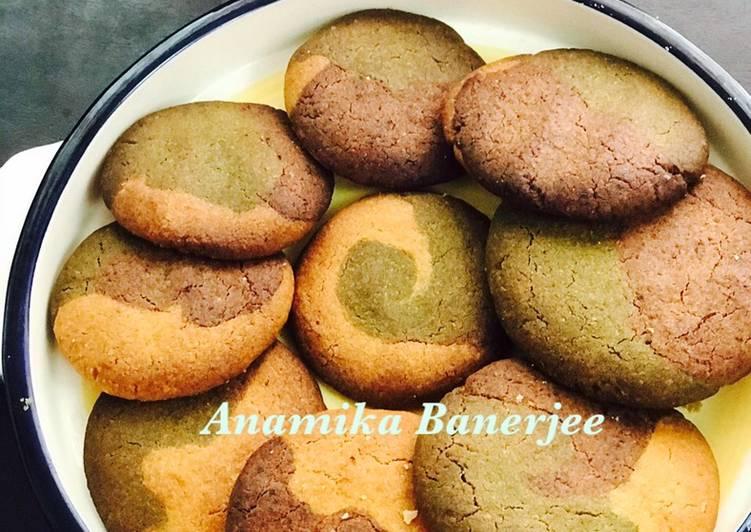 Neapolitan Butter Cookies