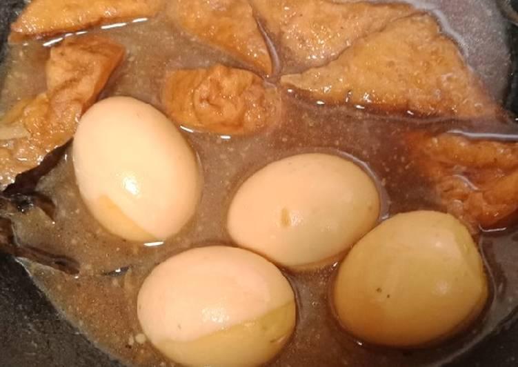 Semur tahu dan telur