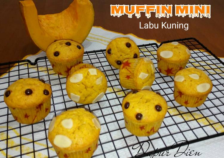 Muffin Mini Labu Kuning