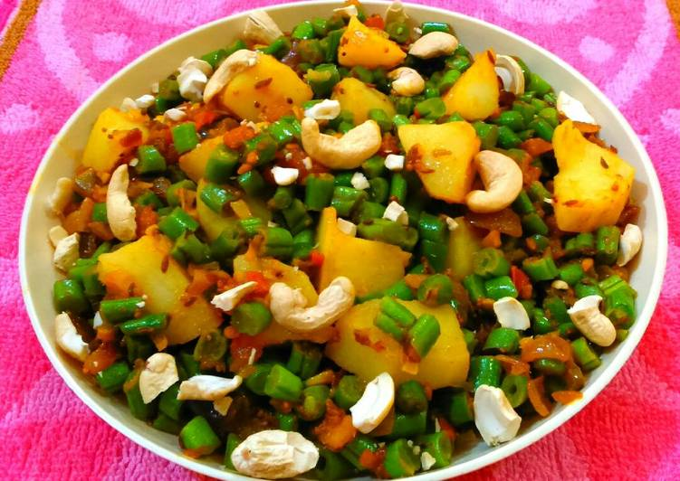 Recipe of Award-winning Aloo beans