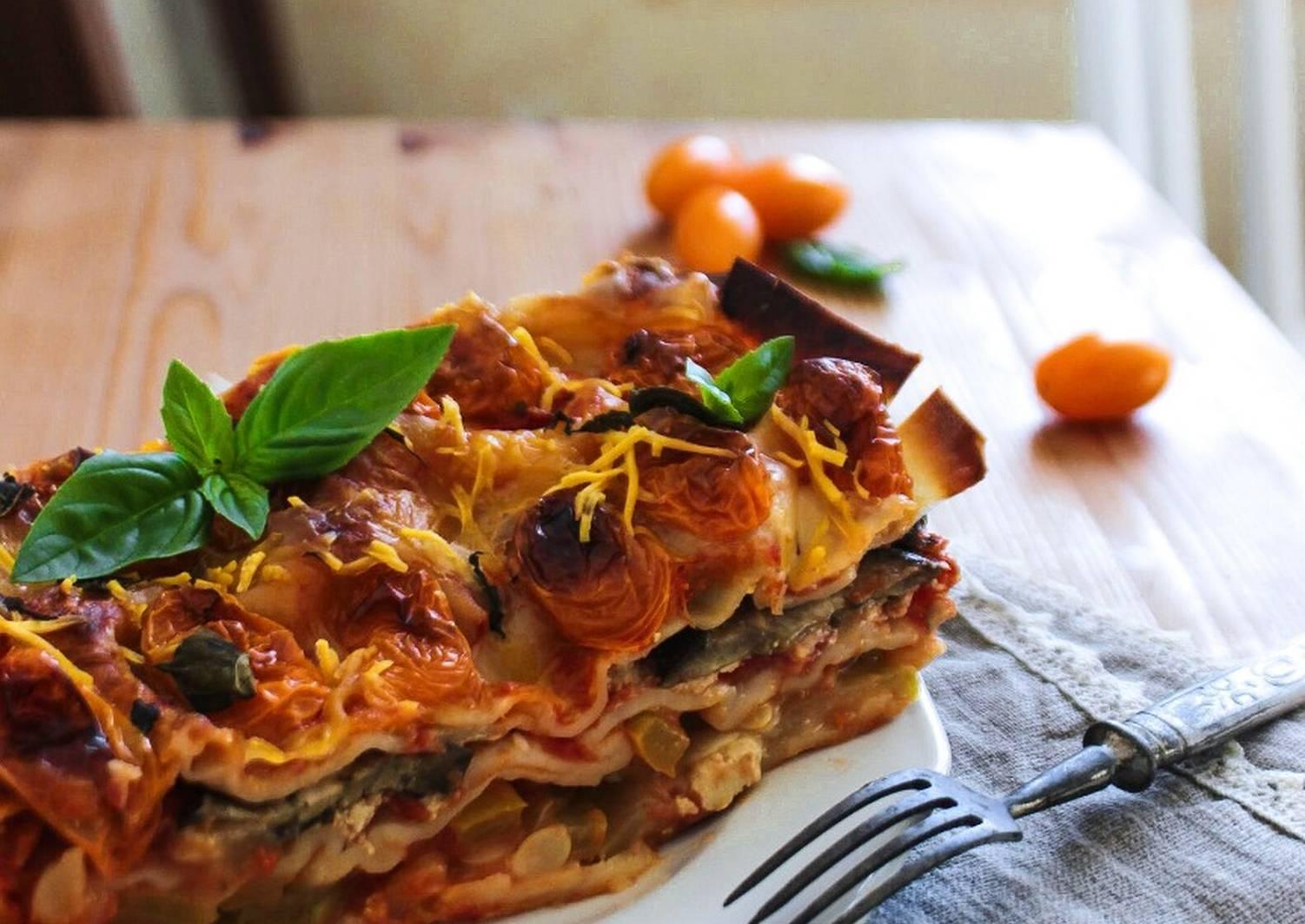 белого как делается лазанья овощная рецепт с фото талию подчеркнуть