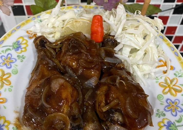 34. Ayam Goreng Saus Mentega Instant