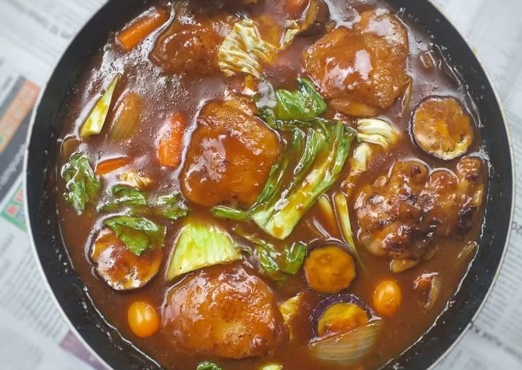 Semur Ayam Sayuran