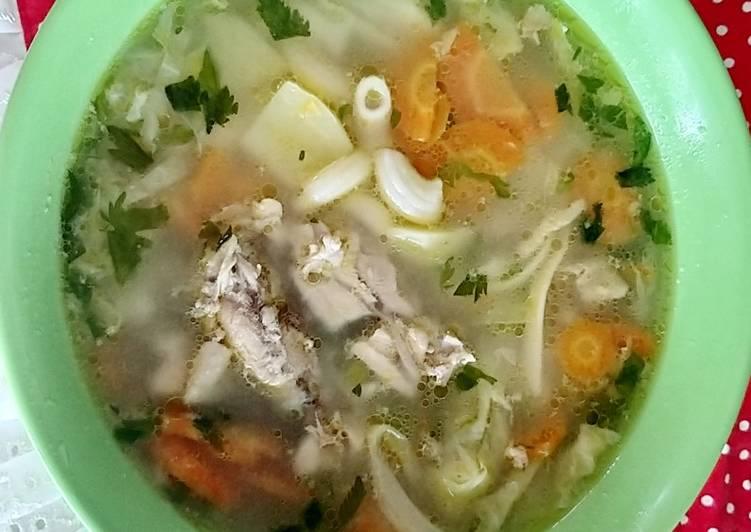 Resep Sayur sop bumbu tumis yang Menggugah Selera
