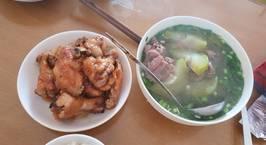 Hình ảnh món Cánh gà chiên nước mắm + canh sườn nấu bí xanh
