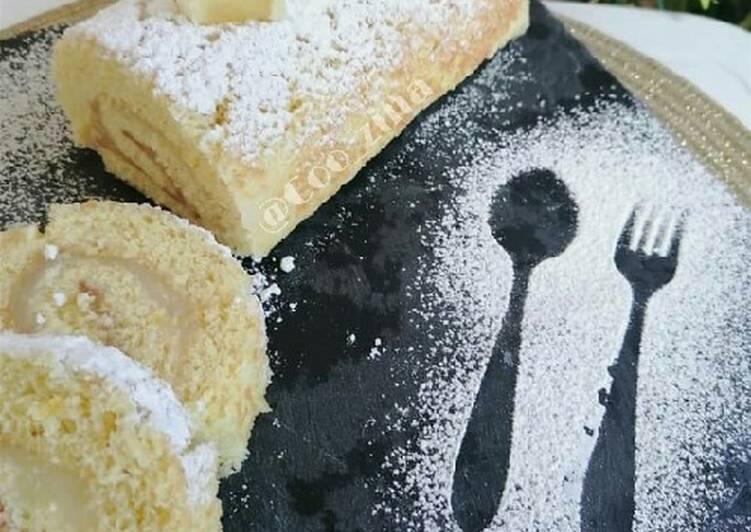 Biscuit roulé au citron 🍋🍋🍋🍋🍋🍋🍋