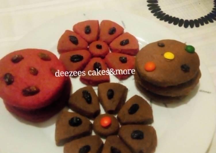 Recipe of Ultimate Raisins&chocolate cookies
