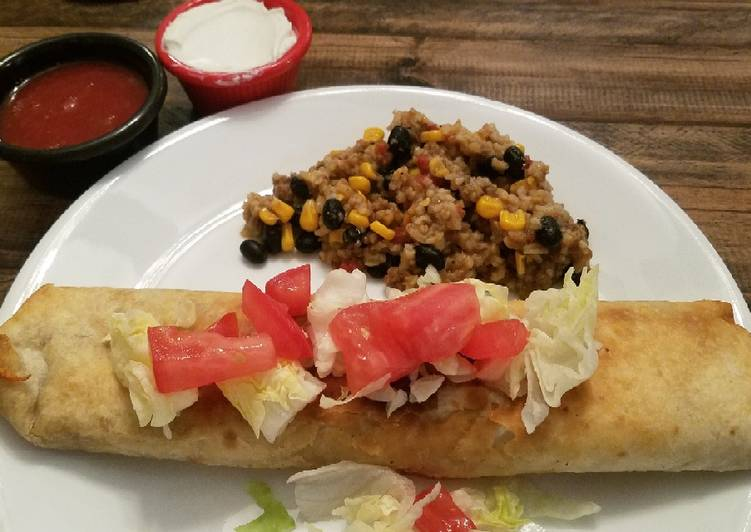 Easiest Way to Prepare Appetizing Crispy Bean Burritos