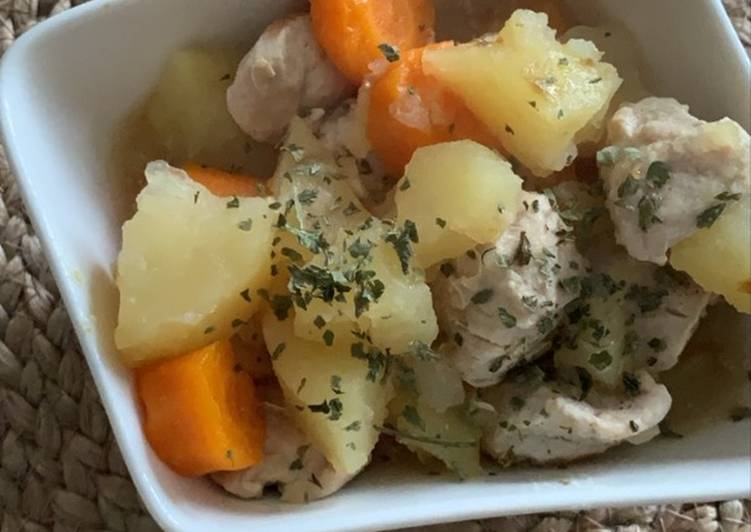 Sauté de dinde aux légumes au Cookeo